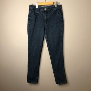 American eagle high rise jeggings skinny jeans 10